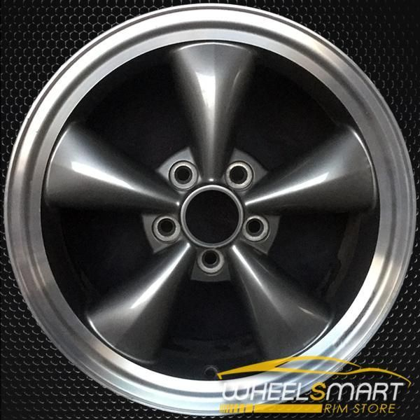 17 Ford Mustang Rims For Sale Charcoal Oem Wheel 3589 In 2020 Oem Wheels Mustang Rims Rims For Sale