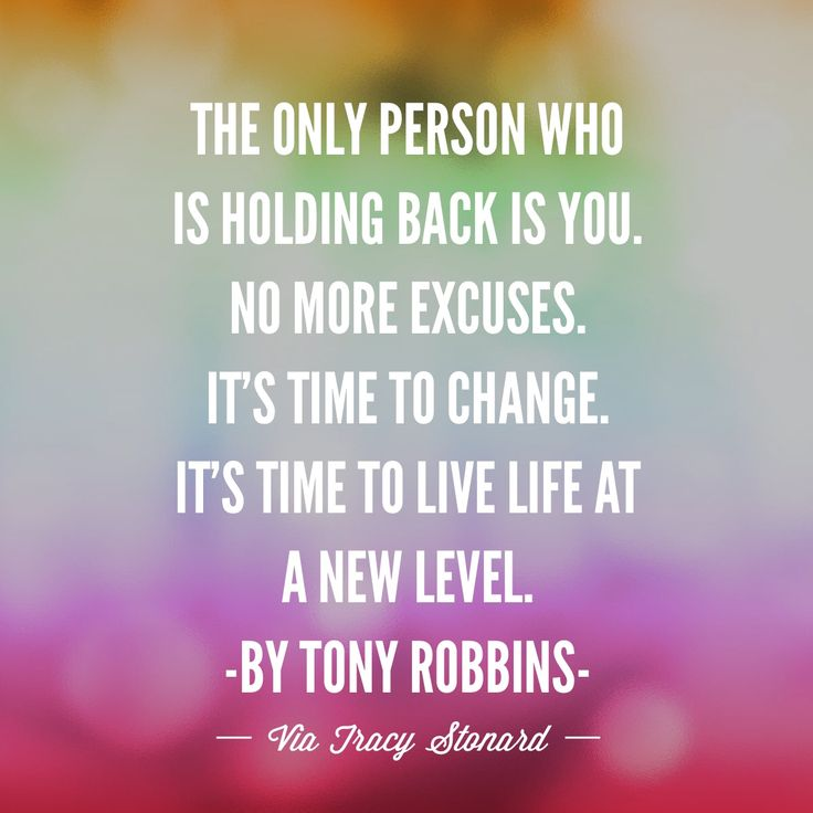 I love this motivational quote by Tony Robbins.