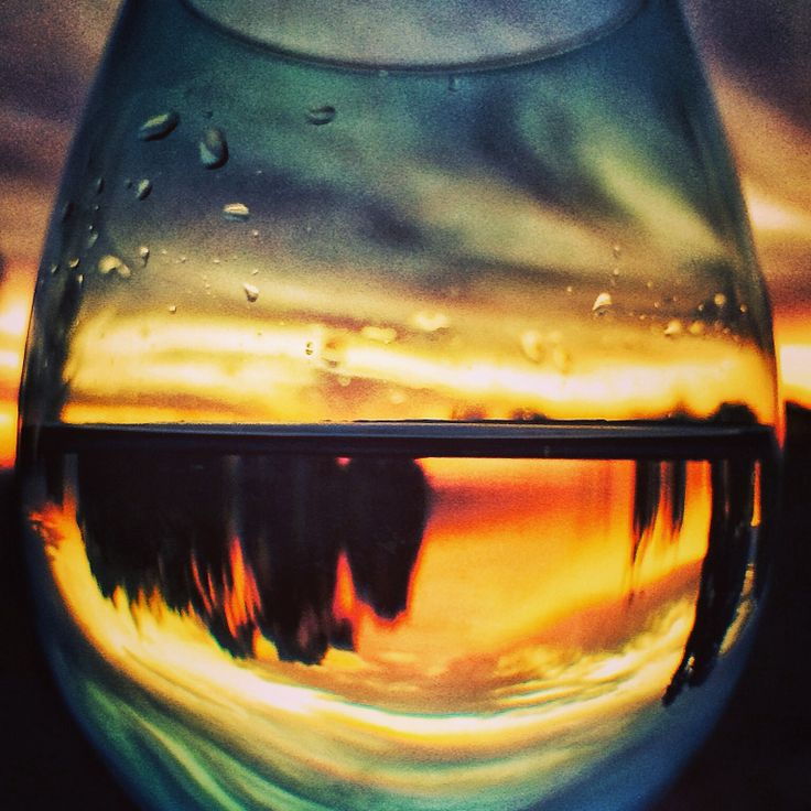 Sunset wine glass. @TeamWhites photo