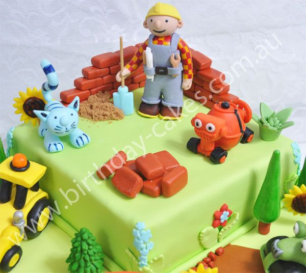 25 Best Ideas About Bob The Builder Cake On Pinterest