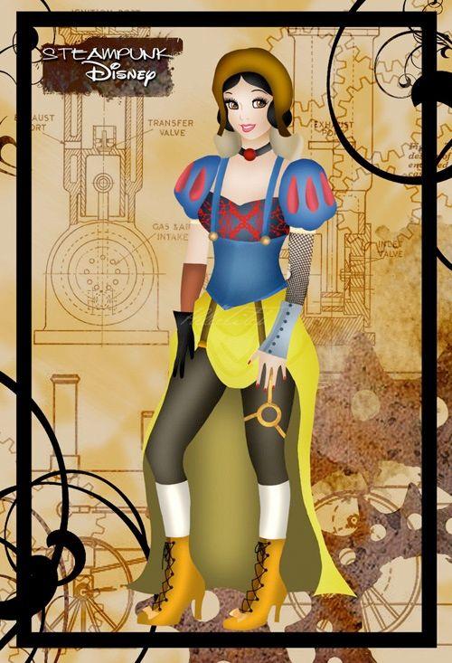 Steampunk Snow White.