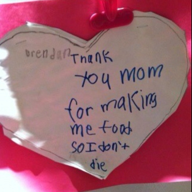 .: Mothers, Thanks Mom, Funny Stuff, Funnies, Kids, Thank You Mom, Valentine