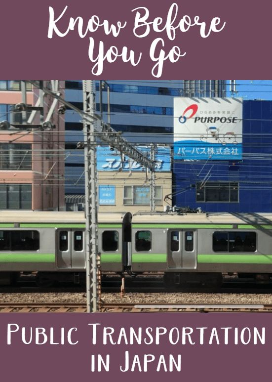 Know Before You Go: Public Transportation in Japan
