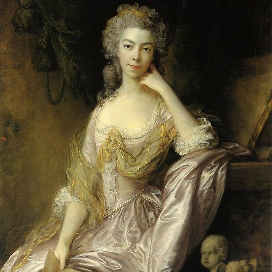 MRS DRUMMOND  By thomas gainsborough