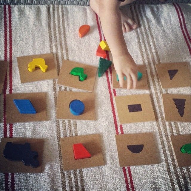 Activity of the Day – Matching Shapes and Shadows