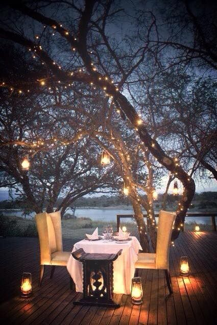 Hands up if you're dreaming of the romantic dates you wish you could have here.