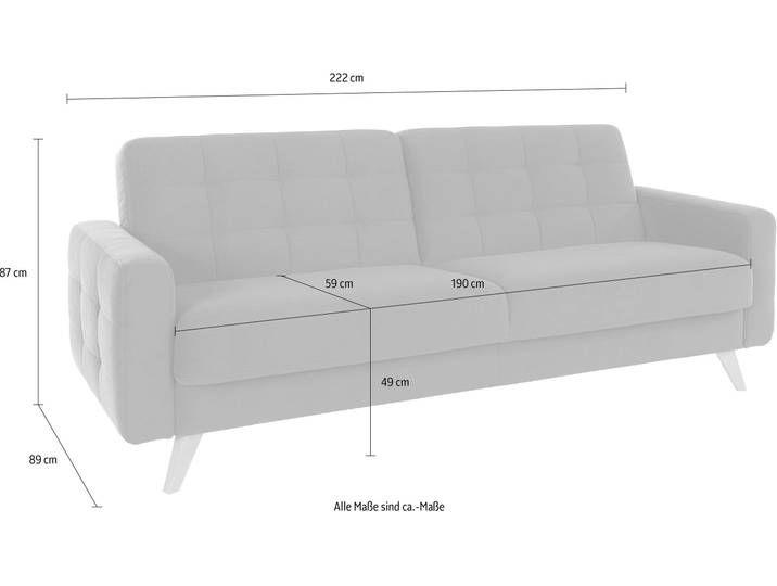 Exxpo Sofa Fashion 3 Sitzer Mit Schlaffunktion Und Bettkasten Rosa In 2020 Sofa Sofa Mit Schlaffunktion 3 Sitzer Sofa