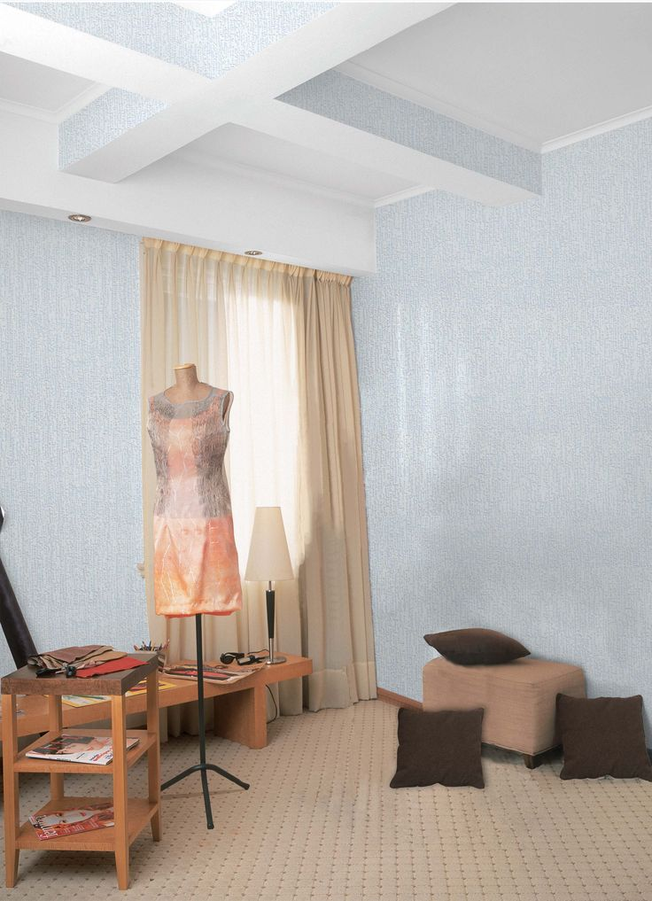 Empapelado celeste - Papel de parede