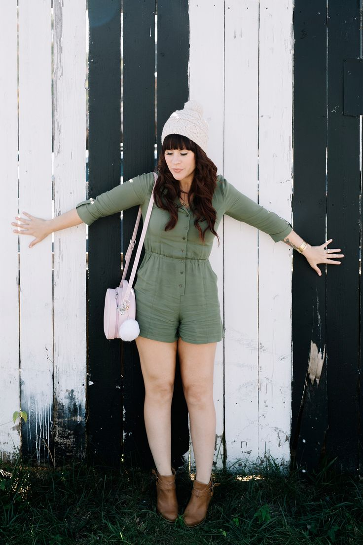 Sister Style: Army Green and Blush Pink