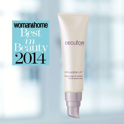 DECLÉOR's brilliant Prolagène Lift - Lift & Fill Wrinkle mask has been awarded Best Hydrating Mask by Woman & Home in 2014! Prolagene Life – Lift & Fill Wrinkle Mask is an intensive mask that targets deep lines and wrinkles from within.