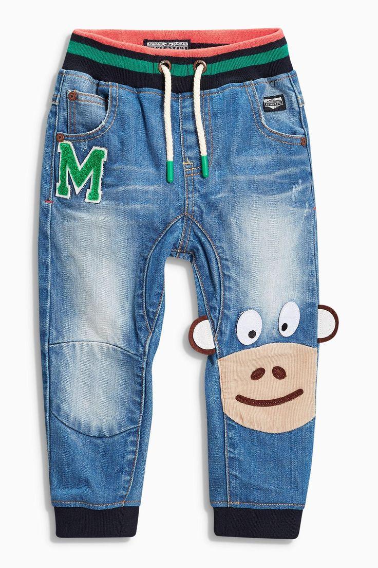Kaufen Sie Monkey Denim-Jeans, mittelblau (3 Monate – 6 Jahre) heute online bei Next: Deutschland