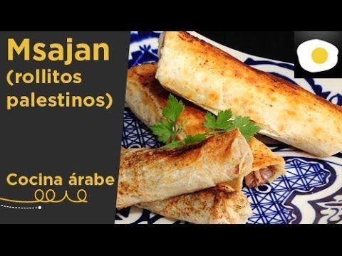 Msajan o rollitos palestinos (Receta) | Cocina árabe