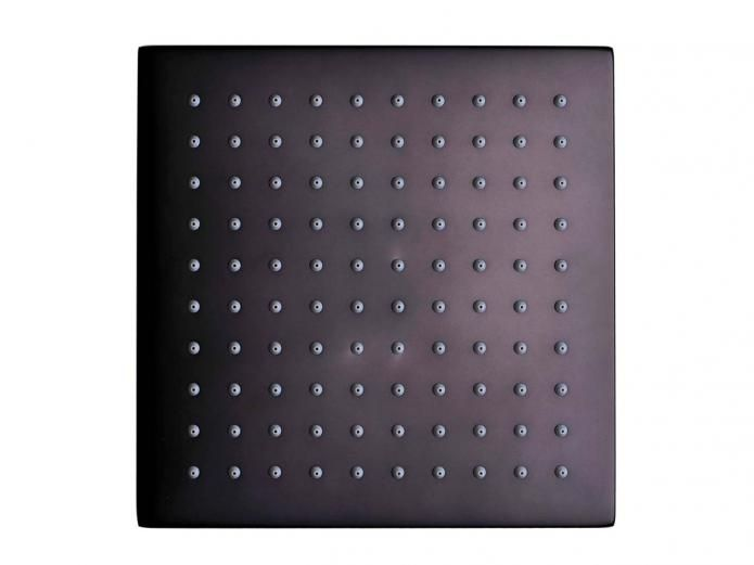 Mizu Bloc MIZU BLOC OVERHEAD SHOWER 200MM BLK (3*)
