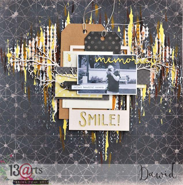 13arts: Smile layout