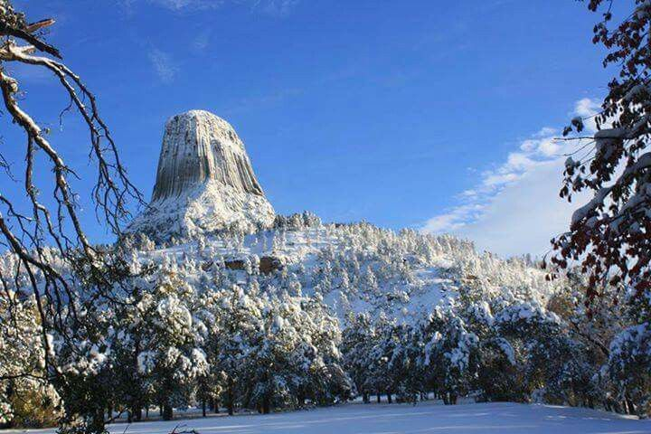 Devils tower, Black hills, Wyoming