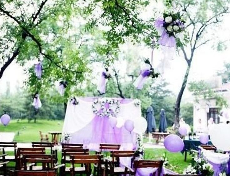 17 best images about september 2016 purple wedding theme for Outdoor wedding themes