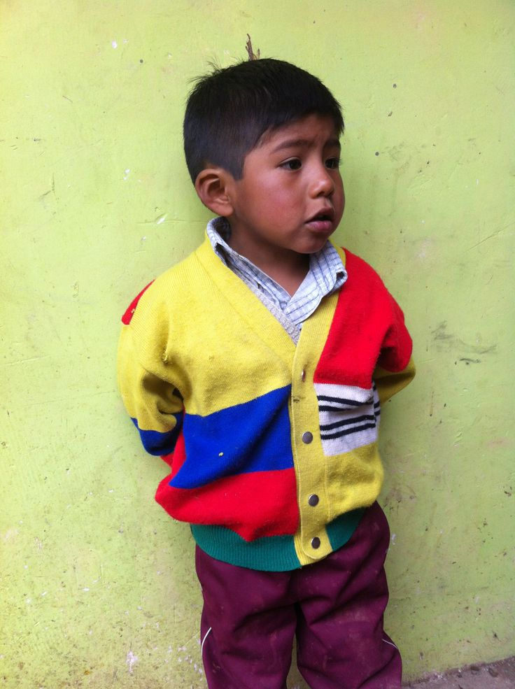 Little boy come from peru. He wear a cardigan Alpaca. #peru #boy #alpaca #alpaga #thealpacacollection