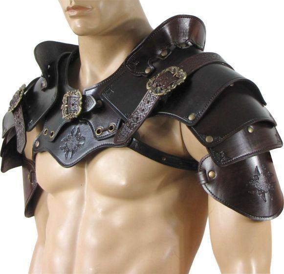 Diy Leather Armor Patterns: Best 25+ Pauldron Ideas On Pinterest