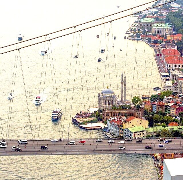 The Bosphorus Bridge, Istanbul