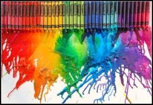 Melted Crayon Art by mara