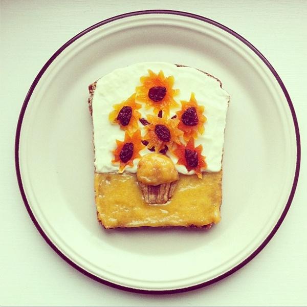 Van Gogh toast | Idafrosk