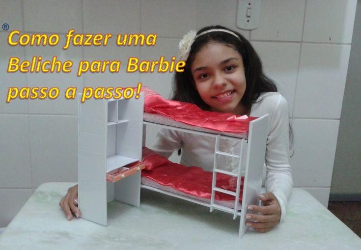 Como fazer Beliche para Barbie, passo a passo                              …