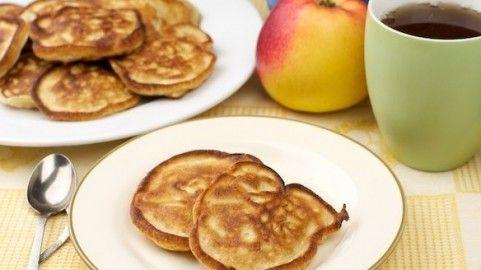 Оладьи с яблоками, Украинская национальная кухня — рецепты, фото, инфо
