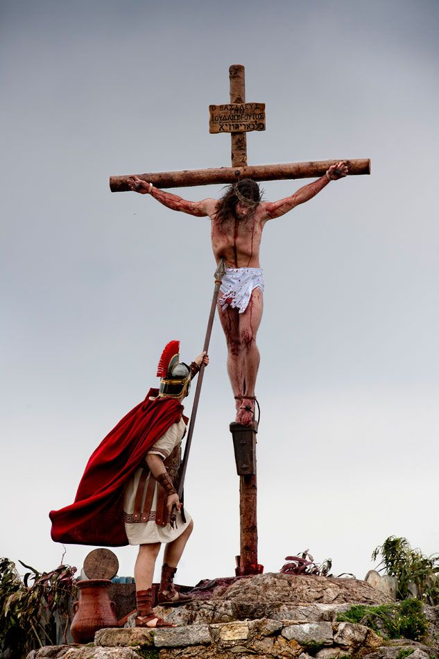 Wow, I don't like seeing it but it helps me to remember that He died for me.