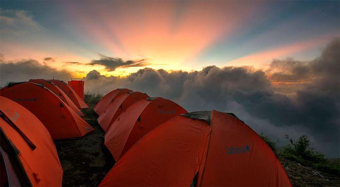 Sembalun ketinggian 2639 meter gunung rinjani