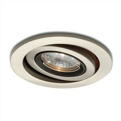 Wac Lighting 3 Low Voltage Gimbal Ring Recessed Trim Brushed Stainless Steel Also For Kitchen Den And Stairway To Family Ro