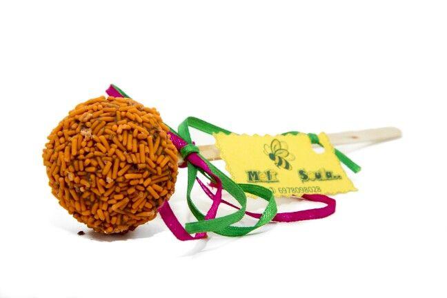 #Orange #CakePops #Chocolate #PopCakes by #MeliSoula