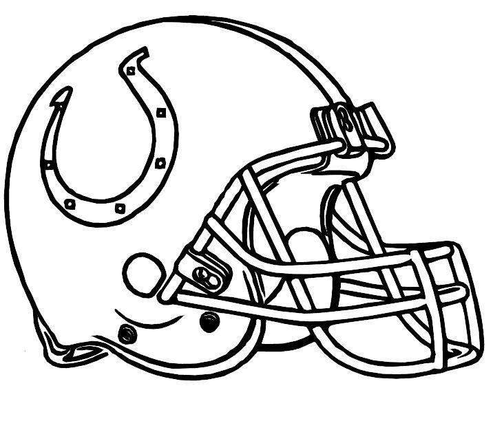 Coloring Rocks Football Coloring Pages Football Helmets Nfl Football Helmets