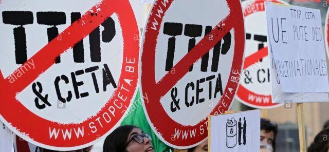 ABD elitleri, kaybettikleri güçlerini yeniden kazanmak için Avrupa ülkeleri ile Transatlantik Ticaret ve Yatırım Ortaklığı (TTIP) serbest ticaret anlaşmalarını yürürlüğe sokmaya çabalıyor.