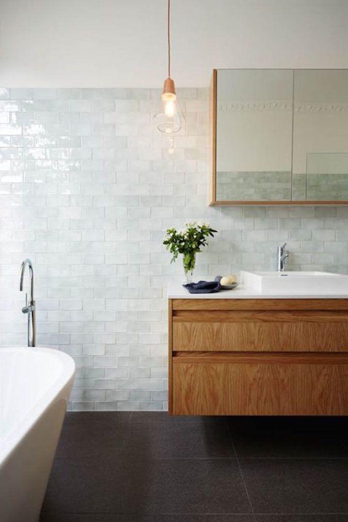 Badkamer trends 2017 met hout   Bathrooms   Pinterest   Downstairs ...