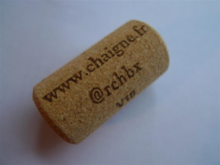 As a geek winemaker, I designed special tweetcorks for my wines.