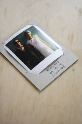 Polaroid thank you cards with carnival theme