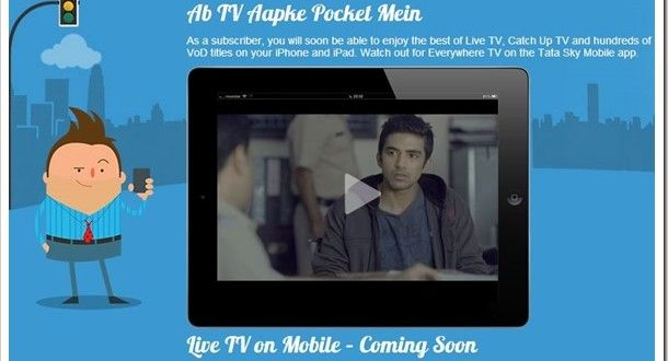 Tata Sky Brings 50 TV Channels Live On The Mobile http://trak.in/tags/business/2013/10/16/tata-sky-50-tv-channels-live-mobile/ #TV