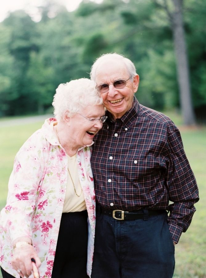 These two sweethearts are still as in love as ever 66 years later! Read there adorable story and share your own on Instagram with #SMPShareYourStory! http://www.stylemepretty.com/2015/09/23/marraige-matters-66-year-love-story/   Photography: Kate Ignatowski - http://www.kateignatowski.com/