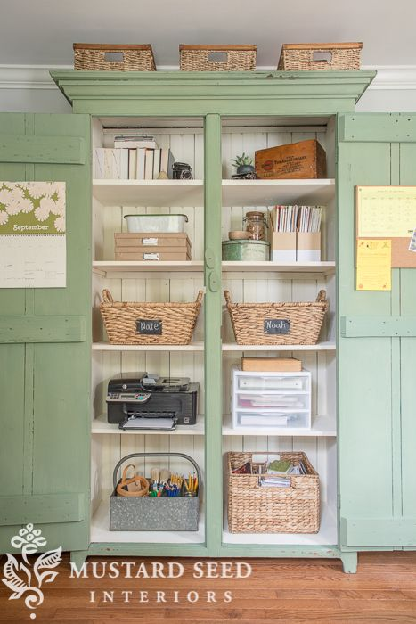 steal-worthy office organization - Miss Mustard Seed