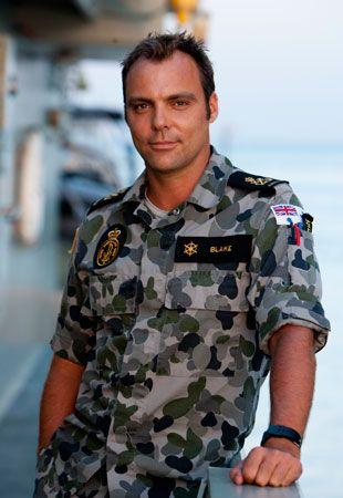 Mike Holmes, aka Chris Blake from TV Show Sea Patrol.