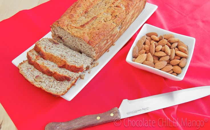 What to do with almonds after you use them to make milk = Almond Milk & Loaf ... waste not, want not