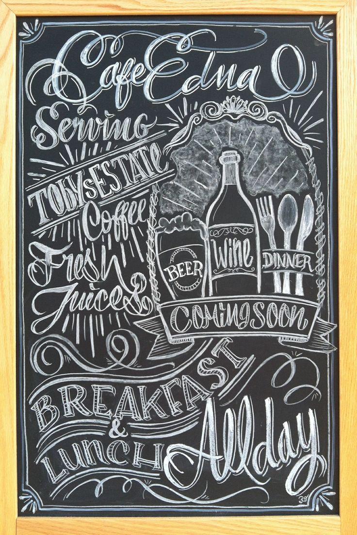 25 Best Ideas About Menu Chalkboard On Pinterest