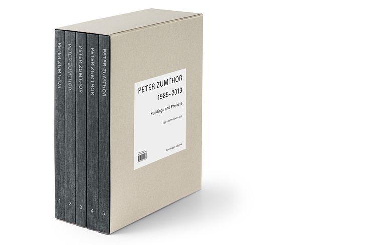 『PETER ZUMTHOR 1985-2013』| Peter Zumthor