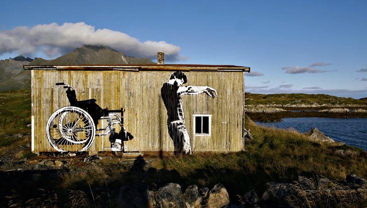 #streetart #dolk