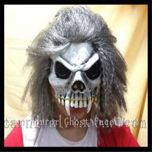 New Arrival Halloween Party Cosplay Zombie scary mask with hair ,deluxe adult head skull mask for halloween party free shipping //Price: $US $21.61 & FREE Shipping //     #tshirtdesign