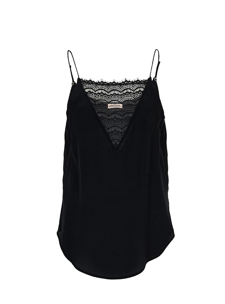 Elvira Silk Slip Top | Custommade.dk