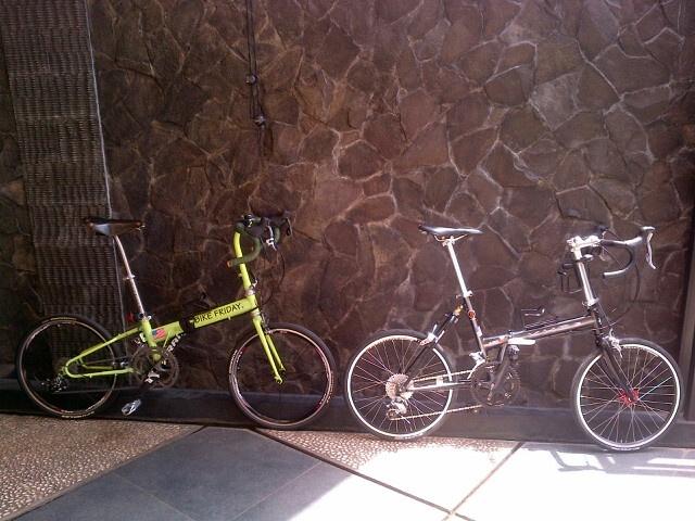 Bike Friday and KHS F20 Touring