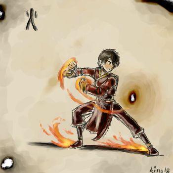 Atla- 4 elements: Fire by ~kino18