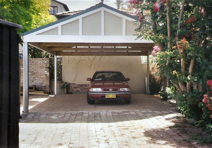Pacific Carports and Pergolas Gallery - Gable Carports