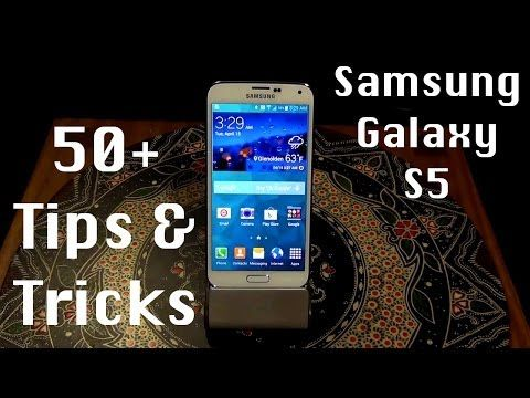 Samsung Galaxy S5 - 50+ Tips and Tricks - YouTube